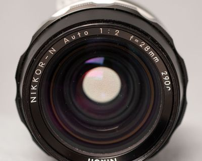 Nikkor 28mm f/2 pre-C, AI-converted $150