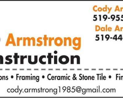 C & D Armstrong Construction ...