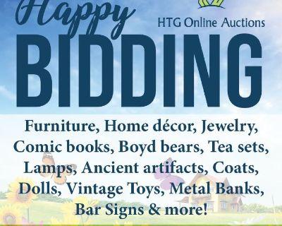 Furniture, Home Furnishings, Jewelry, Comics & More