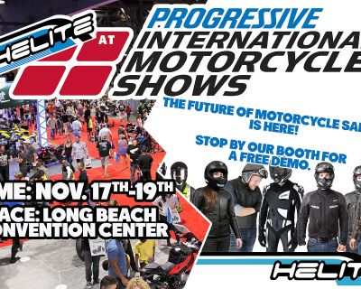 Helite at the Long Beach International Motorcycle Show