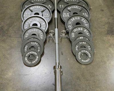 300lb Weight Set