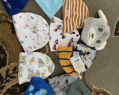 Baby caps/hats bundle