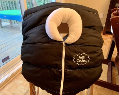 Petit Coulou winter car seat cover