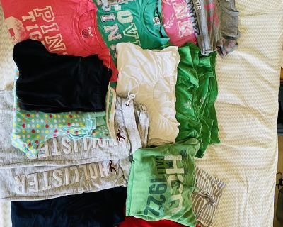 Name brand Clothing and clothes hamper