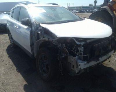 Salvage White 2017 Toyota Rav4