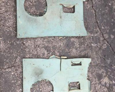 Turquoise kick panels 1964