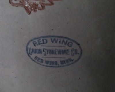 #6 Red Wing crock
