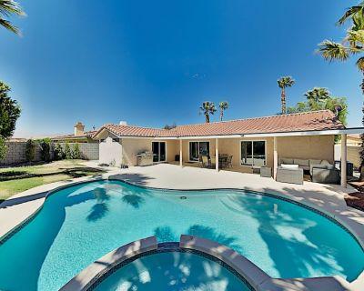 Lavish Desert Retreat | Heated Pool, Hot Tub, Billiards | Near Golf & Dining - Cathedral City