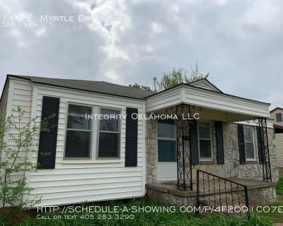 Renovated home near Tinker: 116 E. Myrtle Dr.