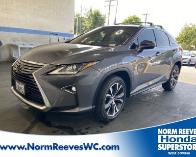Pre-Owned 2017 Lexus RX FWD Sport Utility