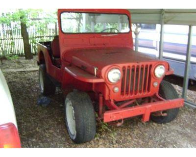 1950 Jeep CJ