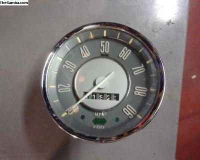 Ghia Speedometer 1967