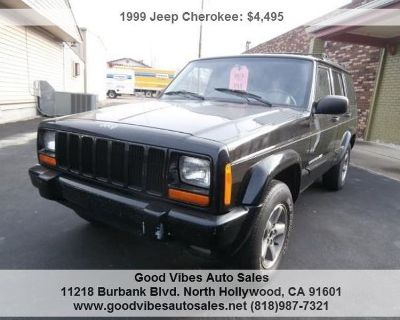 1999 Jeep Cherokee Sport in greaaat condition A great find! We finance