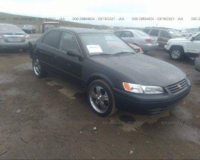 Salvage Black 1999 Toyota Camry