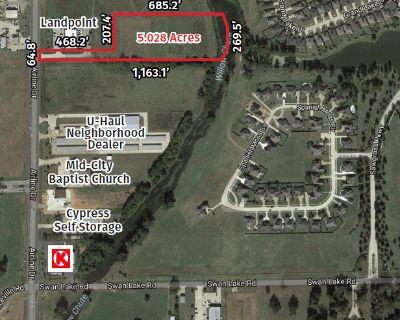 North Bossier Land For Sale/Development +/- 5 acres