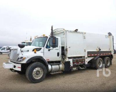 2008 INTERNATIONAL WORKSTAR TA SIDE LOADER Garbage, Sanitation Trucks Truck