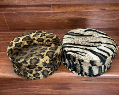 Animal printed storage containers