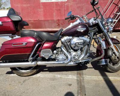 Pre-Owned 2015 Harley-Davidson Road King Touring FLHR