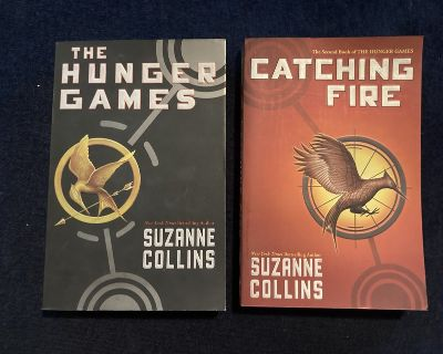 Like new! First 2 Softcover Books in Hunger Games Series