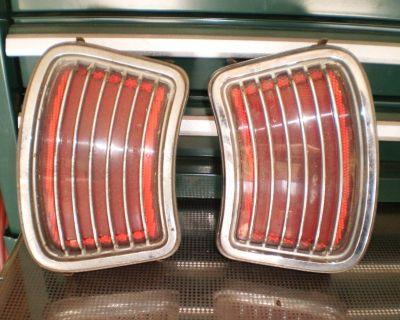 66 1966 Pontiac Tempest Lemans tail lights taillights LEMANS TEMPEST 455 428 389