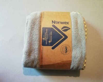 New! Norwex Baby Hooded Towel and Face Cloth