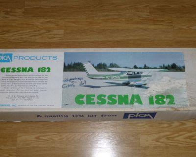 "Pica Cessna 182 balsa kit, 72"" wing pan"