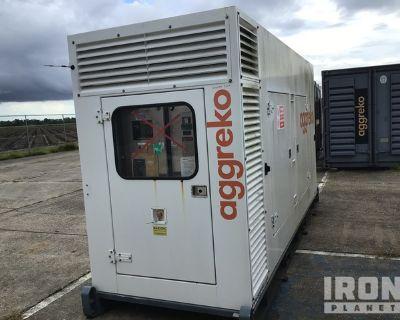 2012 Stamford 168 kW Skid-Mounted Gen Set