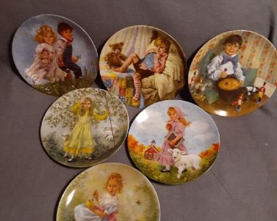 Mother Goose Plate Set of 6