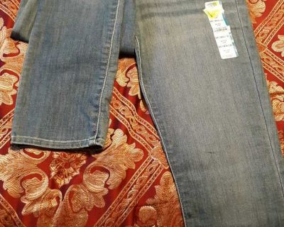 Mid-rise jeans size 2