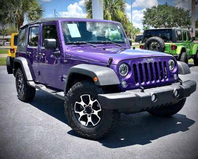 Used 2017 Jeep Wrangler Unlimited Sport S 4x4