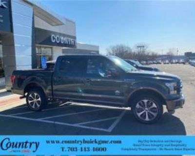2015 Ford F-150 King Ranch SuperCrew 5.5' Box 4WD