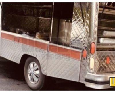 Great Running 2000 Chevrolet K3500 Canteen Lunch Serving Food Truck