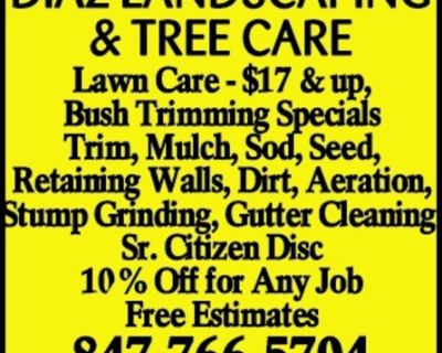 DIAZ LANDSCAPING & TREE CARE L...
