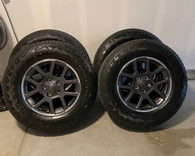 Colorado - Overland wheels & AT tires (4)