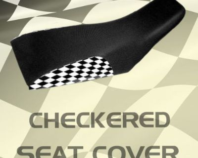 Yamaha Raptor 50 Checkered Seat Cover #kkk16604 Oie8614