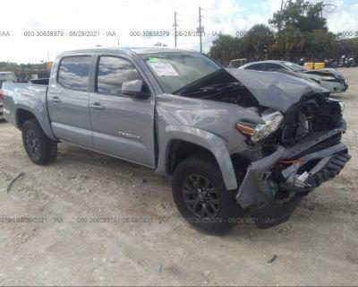 Salvage Gray 2020 Toyota Tacoma 2wd