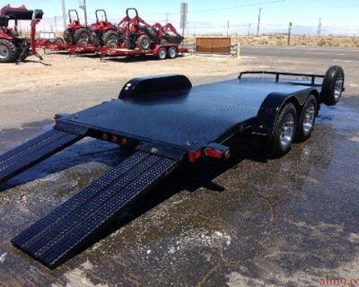 Race Car Hauler, Bumper Pull Car Trailers, Big Tex Car Trailers 70DM-18