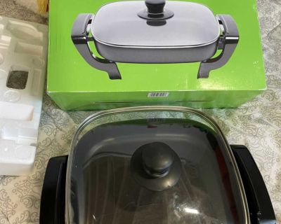 Like new electric skillet