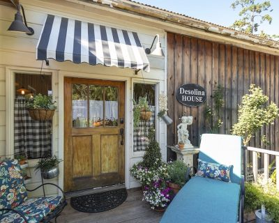 DeSolina Cottage in the middle of Edna Valley Wine Country. - San Luis Obispo