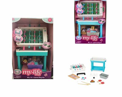 """My Life As 5-in-1 Game Play Set for 18"""" Doll, 44 Pieces"""