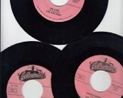 Set Of 3 Collectables Records*Mint-45s !