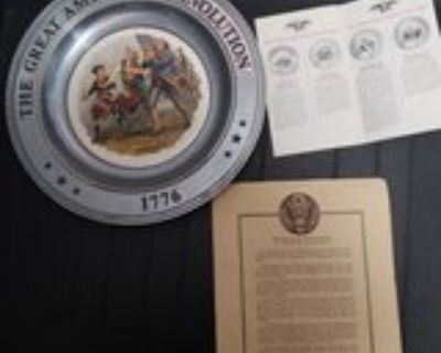 The Great American Revolution Collectable Plates