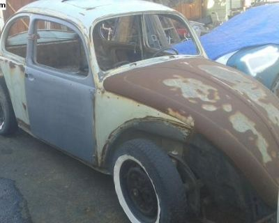 Parting out 1966 sunroof bug