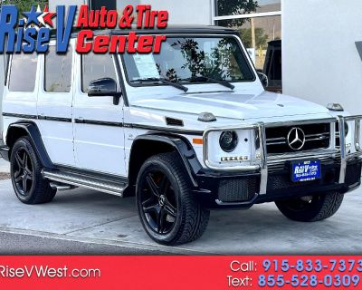 Used 2018 Mercedes-Benz G-Class G63 AMG 4MATIC