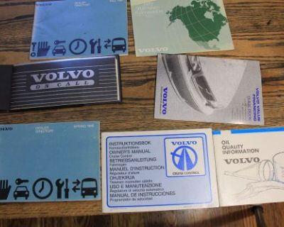 Volvo 240 740 940 850 Owners Manual Supplemental Booklets Lot