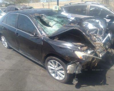 Salvage Black 2014 Toyota Camry