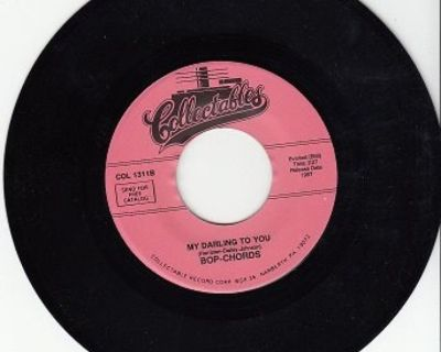 BOP-CHORDS ~ My Darling To You*Mint-45 !