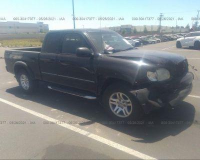 Salvage Black 2003 Toyota Tundra