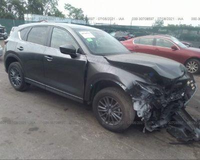 Salvage Black 2021 Mazda Cx-5