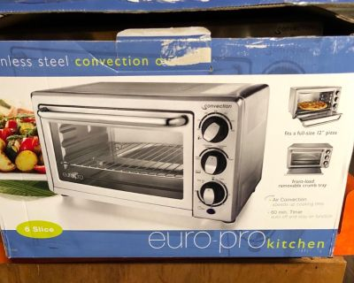 Stainless steel conventional oven